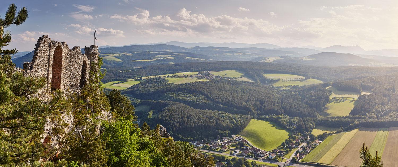 Türkensturz, Wiener Alpen in Niederösterreich